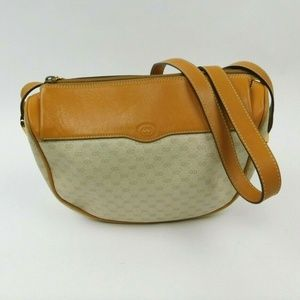 Gucci Vintage Africa Mignon Crossbody Purse